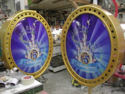 Médaillon Disneyland 15 ans du parc